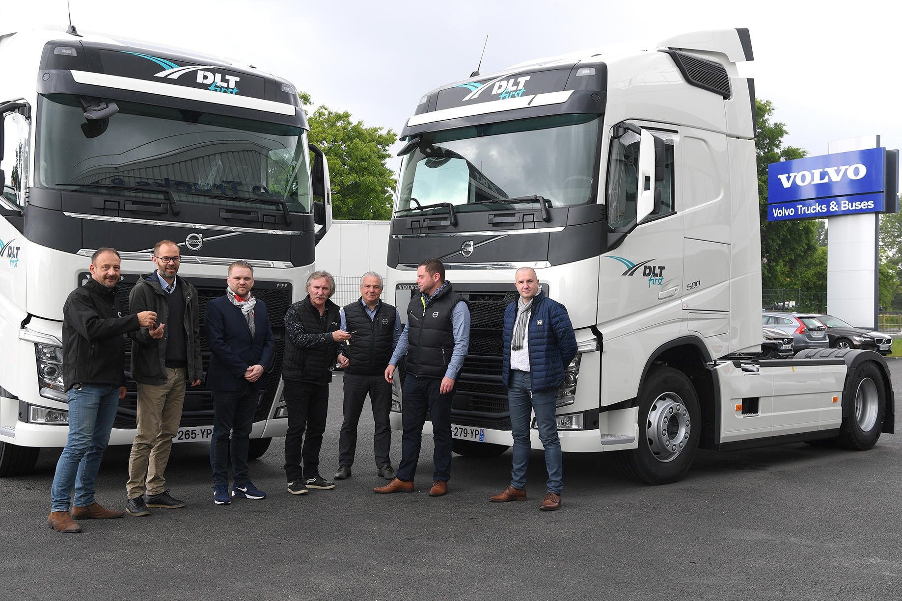 DLT First et Volvo